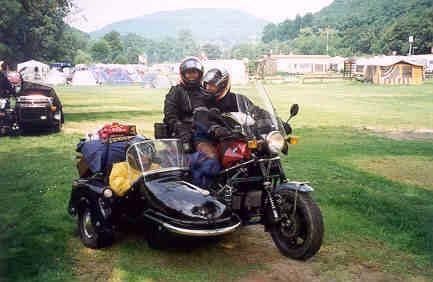 Build A Honda >> John Dreuning motor bike sidecar page, Yamaha GTS 1000 Side Bike Mega Comete, zijspan ...