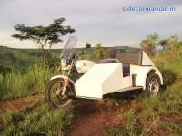 BMW R45 with homemade sidecar