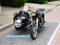 BMW R26 with Duna sidecar