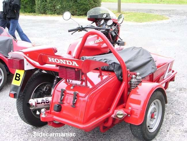 Honda CB750 Sidecar Rigs
